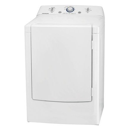 Frigidaire Ffrg1001pw 7 0 Cu  Ft  Gas Dryer With One Touch Wrinkle Release