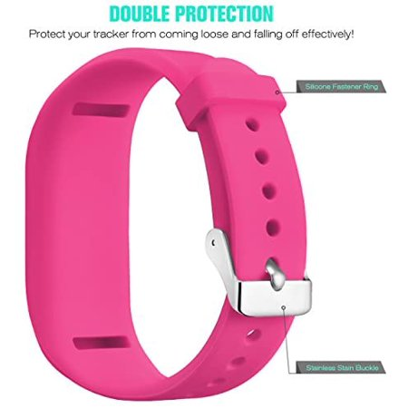 SKYLET Compatible with Garmin Vivofit JR Band Vivofit 3 Vivofit JR 2 Bands, Colorful Silicone Replacement Wristbands - image 5 de 5