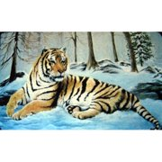 Custom Printed Rugs Tiger Doormat