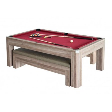 Blue Wave Products NGP Newport Ft Pool Table Set With Benches - Newport pool table