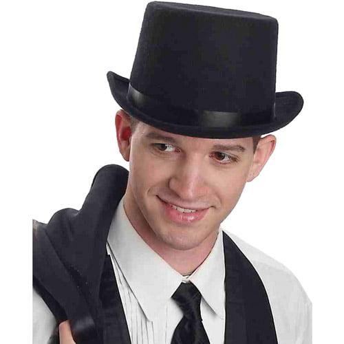 Dozen Black Magician Butler Formal Gentleman Top Hat Costume Accessory