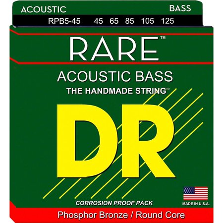 DR Strings Phosphor Bronze Acoustic 5-String Bass