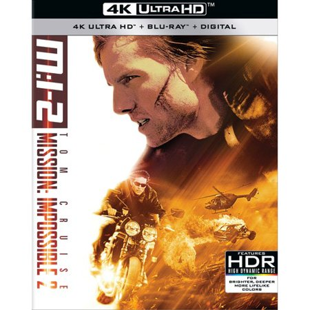 Mission: Impossible 2 (4K Ultra HD + Blu-ray + Digital Copy)
