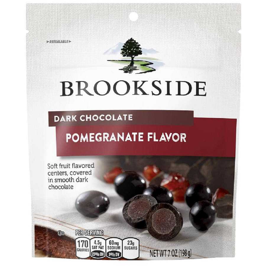 Brookside Dark Chocolate Pomegranate Candy, 7 oz