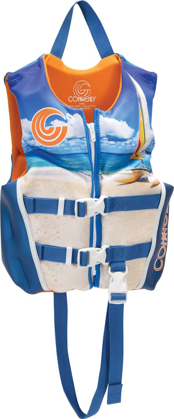 Connelly Boy's Child CGA Neoprene Life Vest by Connelly