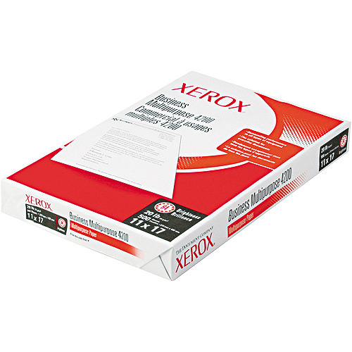"Xerox Business 4200 Copy Paper, 11"" x 17"", 500 Sheets"