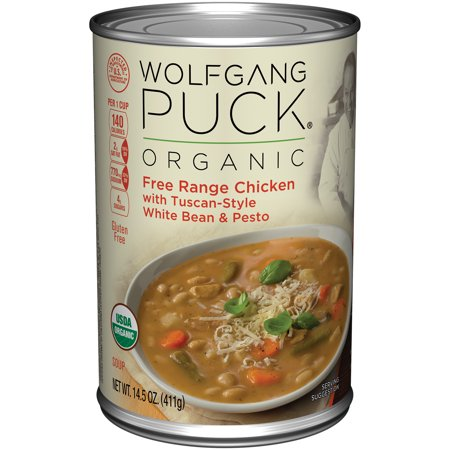 ... Chicken with Tuscan-Style White Bean & Pesto Soup 14.5oz - Walmart.com