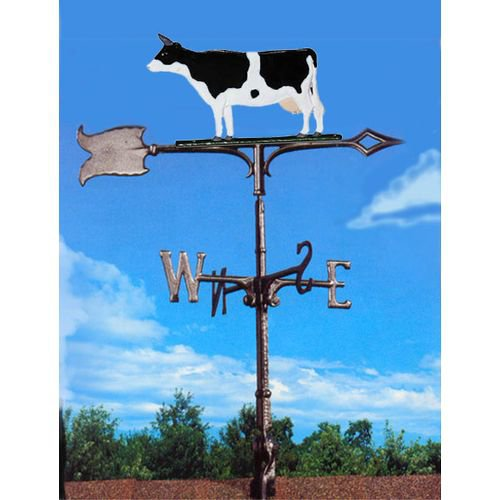 Painted Cow Weathervane by White Hall Products