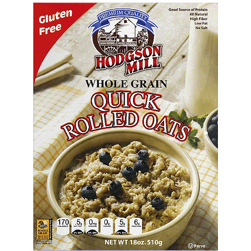 uick Rolled Oats, 18 oz (Pack of 6)