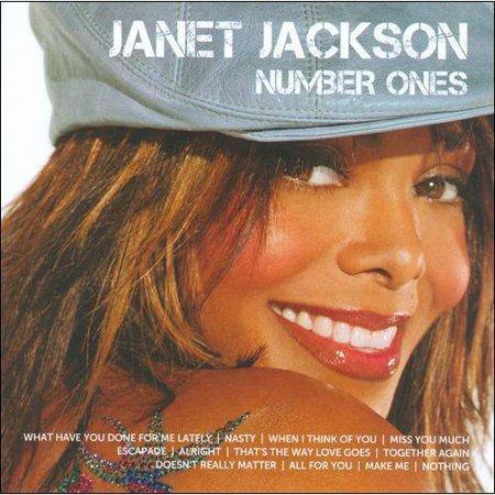 Janet Jackson   Icon Series  Janet Jackson Number Ones  Cd