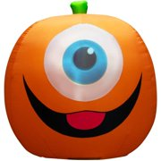 5' Projection Inflatable Eyeball Pumpkin
