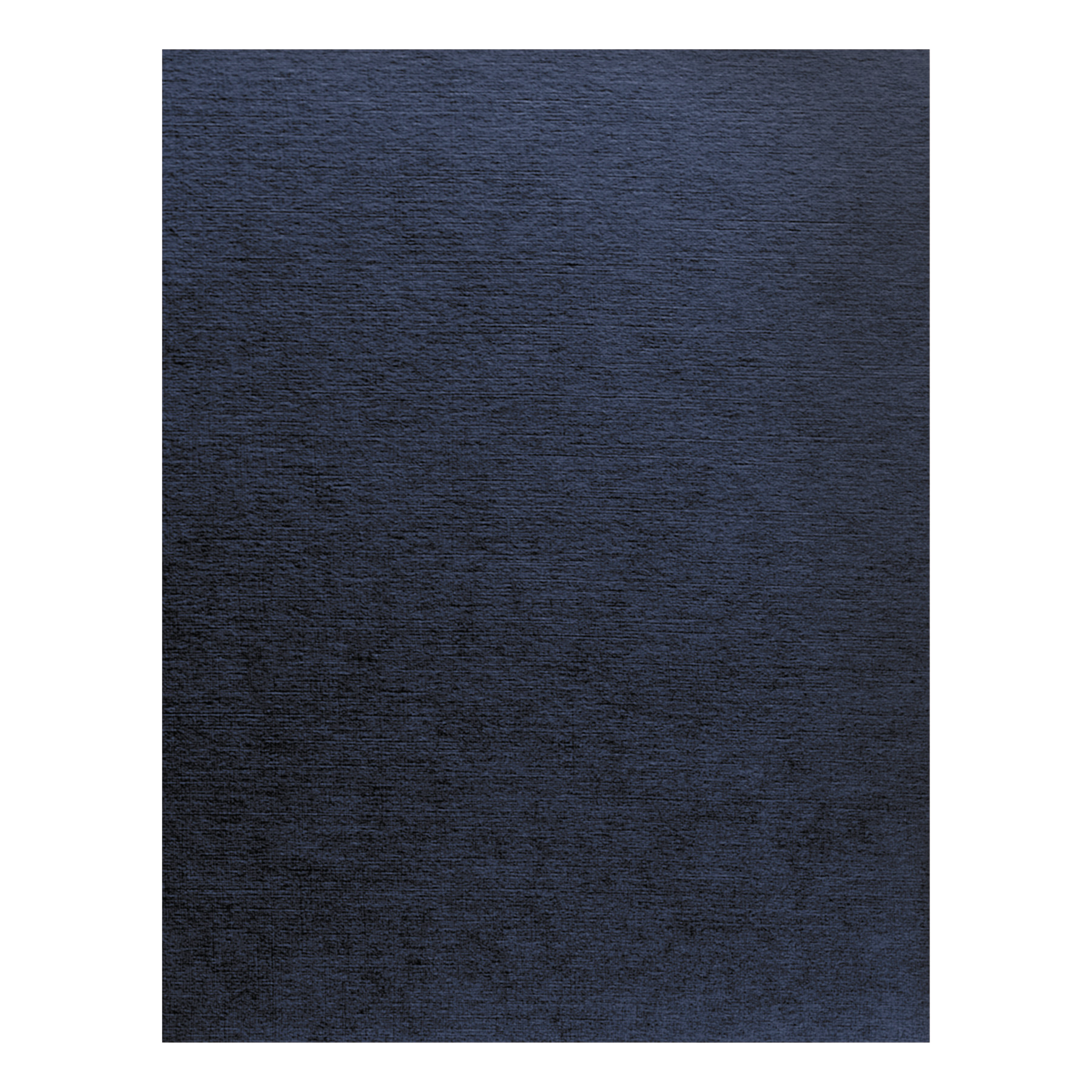 Fellowes Linen Texture Binding System Covers, 11 x 8-1 2, Navy, 200 Pack -FEL52098 by FELLOWES MFG. CO.