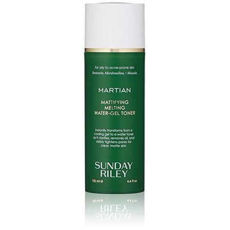 Gel Herbal Toner - Sunday Riley Martian Mattifying Melting Water-Gel Toner, 4.4 fl oz