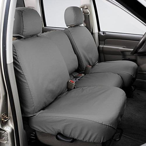 SS8429PCGY Covercraft Seat Cover Seat Style T - 60/40 Split Bench And