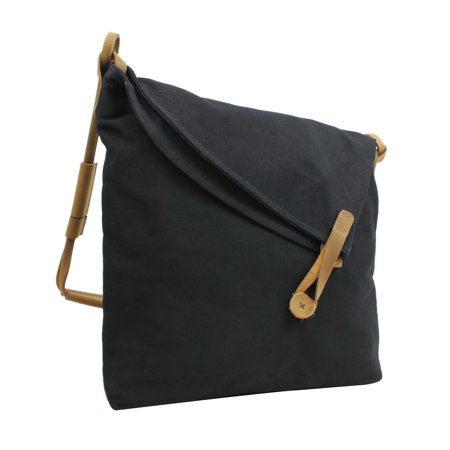 Vagarant Traveler Casual Style Cotton Canvas CrossBody Shoulder Bag