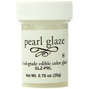 Bakery Crafts Pearl Glaze Ready To Use, Food Grade, Edible, .7 Ounce