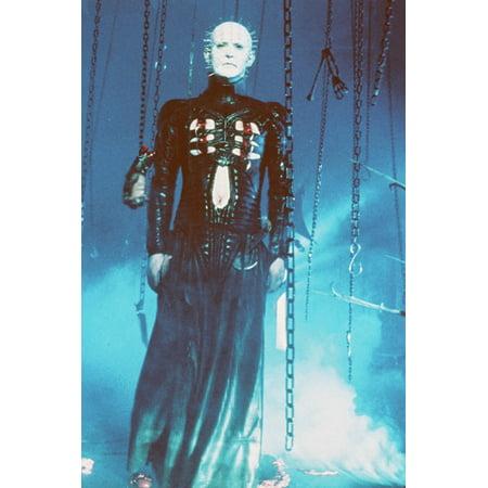 Hellraiser Doug Bradley 24X36 Poster Pinhead By Chains - Hellraiser Pinhead