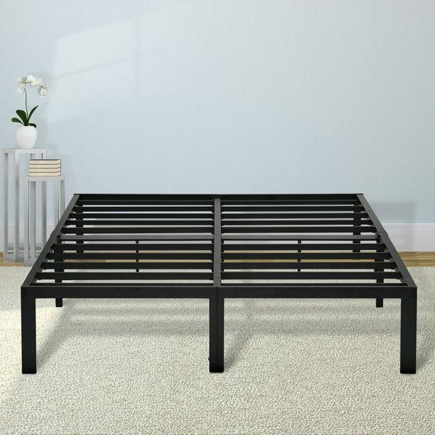 GranRest 14'' Durable Steel Slat Metal Platform Bed, Twin XL