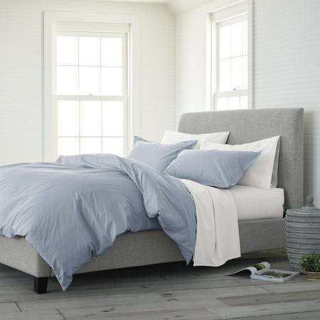 EcoPure? Comfort Wash King Light Blue Duvet Cover Set