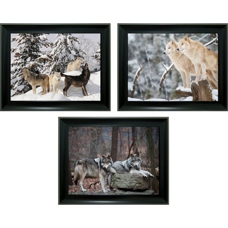 3d Steel Wall Art - WHITE WOLF TRIP. IMAGE 3d lent