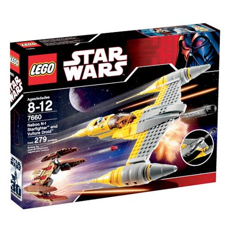 Lego star wars set naboo n 1 starfighter and vulture - Lego star wars 1 2 3 4 5 6 ...