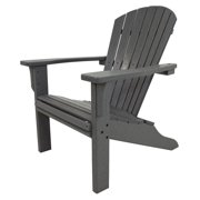 POLYWOOD® Seashell Recycled Plastic Adirondack Chair