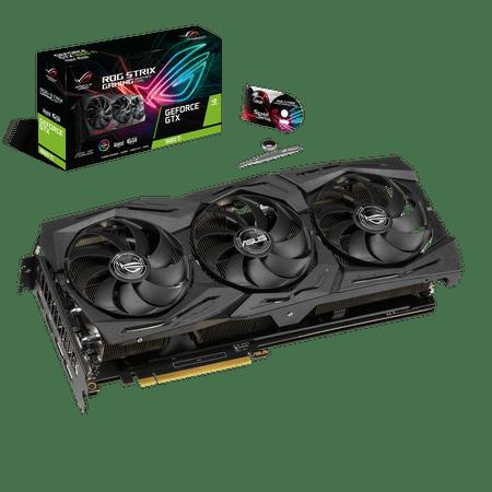 ASUS ROG STRIX GeForce? GTX 1660Ti 6GB Advanced Edition VR Ready HDMI 2.0 DP 1.4 Auto-extreme Graphics