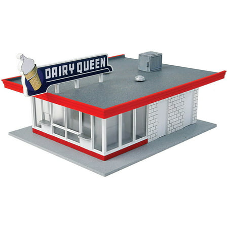 Walthers Cornerstone Ho Scale Building Structure Kit Vintage Dairy Queen Store
