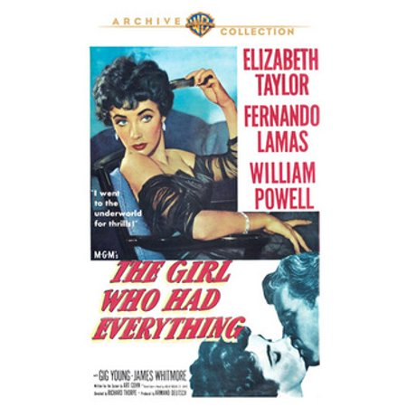 The Girl Who Had Everything (DVD) - Everything Girl