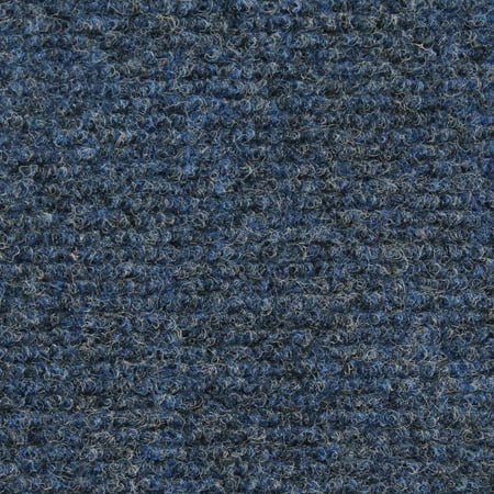 Indoor Outdoor Carpet With Rubber Marine Backing Blue 6