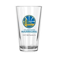 Golden State Warrior Pint Glass Warriors