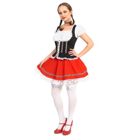 Beer Garden Girl Adult Costume - Better Homes And Gardens Halloween Costume Ideas