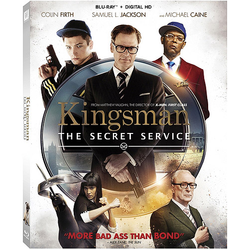 Kingsman: The Secret Service (Blu-ray + Digital HD) (With INSTAWATCH) (Widescreen)