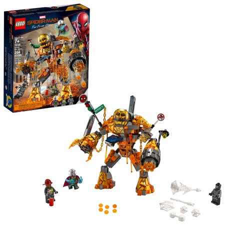 LEGO Super Heroes Marvel Spider-Man Molten Man Battle 76128