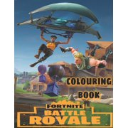 Fortnite Colouring Book : Fortnite Colouring Book For Children And Adults, +54 High Quality Pages, Latest Edition 2020. (Paperback)