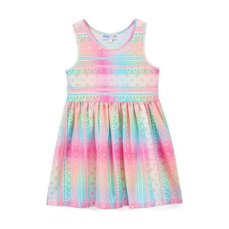 Printed Tank Dress (Toddler Girls) - Top Dresses For Girls