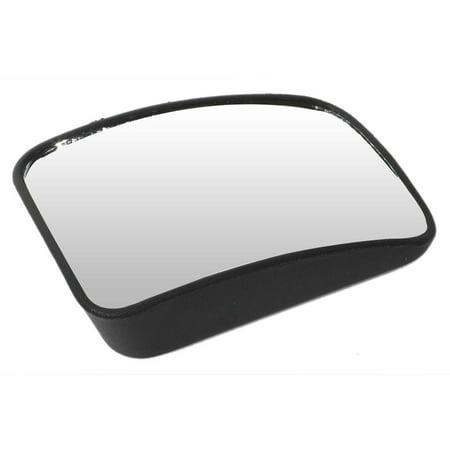 Pilot Automotive MI-007 Slim Convex Blind Spot Mirror 3.75 x 2.50 Convex Blind Spot Mirror