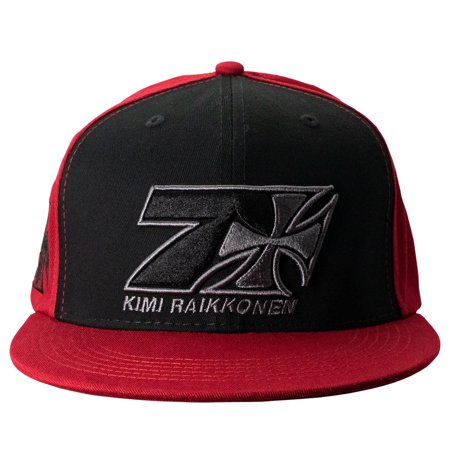 Kimi Räikkönen West Coast Choppers Hat Cross Seven Flatbrim Red West Coast Choppers Fenders