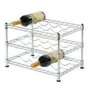 12-Bottle Stackable Wine Rack by Seville Classics