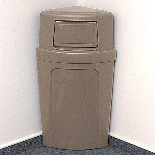 "21-1/4"" Side Opening Trash Can, Continental, 8325-BE"