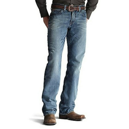 Ariat Men M4 Fashion Boot Cut Jeans 33W x 32L M US