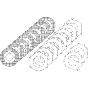 1264581C91 New Case-IH Tractor Brake Plate Kit 5088 5288