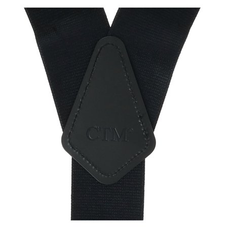 CTM Men's Big & Tall Elastic Camouflage Suspenders with Black Swivel Clips - image 2 of 4