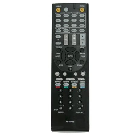 New Remote control RC-898M for Onkyo AV Receiver TX-NR646 TX-NR747 TX-NR545 (Remote Receiver Extension)
