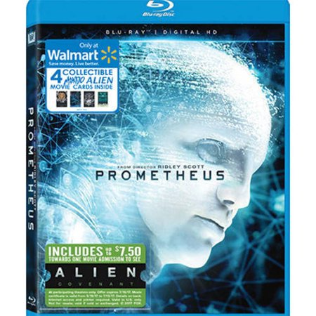 Prometheus (Blu-ray + Digital HD) (Walmart Exclusive)