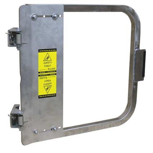 PS DOORS LSG-21-SS-SW Safety Gate, 19-3/4 to 23-1/2 In, SS