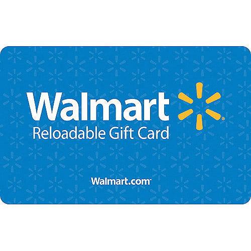 Basic Blue Walmart Gift Card by Generic