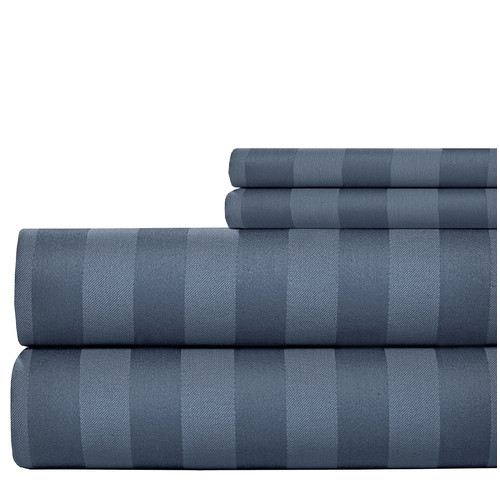 Aspire Linens 600 Thread Count Cotton Sheet Set
