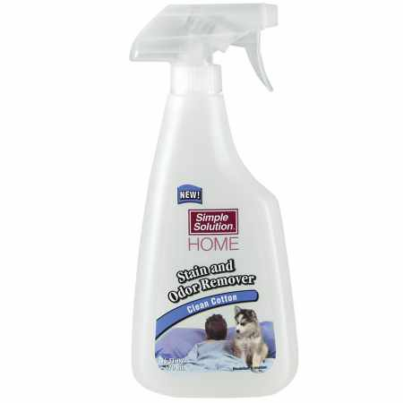 Simple Solution Stain  Odor Remover  Clean Cotton 16 oz