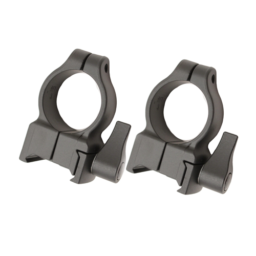 CVA Z-2 Alloy QD Scope Rings - High (Black) SKU: DS403B